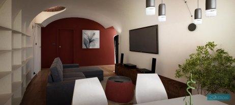 Render2_PrivateHouse_unaVolta/@Torino/2015 - ESAASTUDIO